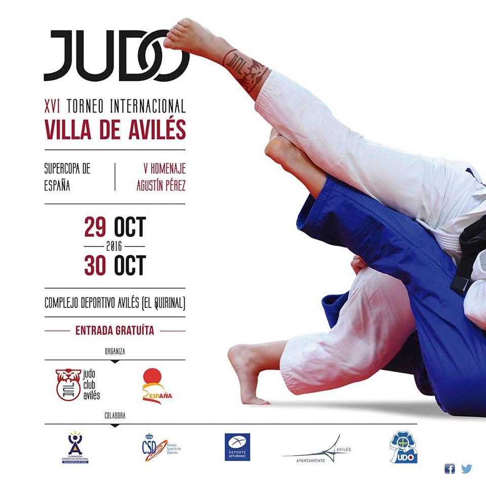 Resultado de imagen de villa de aviles judo 2016